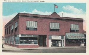 SALISBURY , Massachusetts, 1910s ; The New Associate's Building