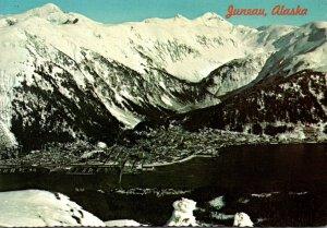 Alaska Juneau Aerial View 1977