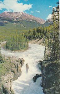 Canada Sunwapta Falls Jasper Alberta