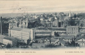 ROCKVILLE , Ct. , 1906 ; View from Fox Hill ; TUCK 2034