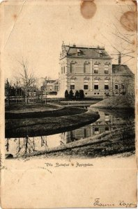 CPA APPINGEDAM Villa Buitenlust NETHERLANDS (705924)