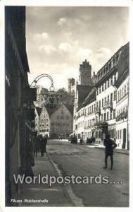 Reichenstrabe Germany, Deutschland Postcard Fussen Reichenstrabe Fussen