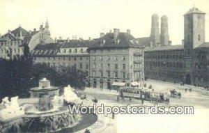 Maximiliansplatz Munchen Germany Unused