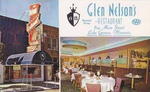 Wisconsin Lake Geneva Glen Nelsons Restaurant