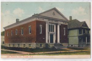 Masonic Hall, Arcade NY