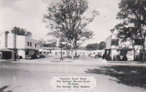 Fountain Court Hotel Hot Springs Arkansas