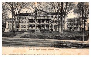 Connecticut  Hartford , Deaf and Dumb Asylum
