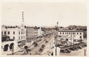RP: COEUR D'ALENE , Idaho , 1930-40s ; Street ; #2