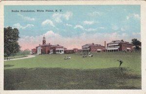 WHITE PLAINS, New York, PU-1950; Burke Foundation