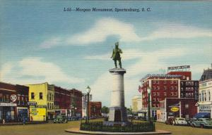 Morgan Monument, Spartanburg, South Carolina, 30-40s