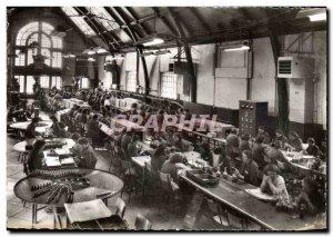 Modern Postcard The Benedictine Fecamp A La Salle D & # 39Etiquetage