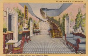The Hallway At The Hermitage General Andrew Jacksons Home Nashville Tennessee