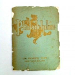 Philadelphia PA 1908 The John C Winston Co Publisher 120 Principal Views Booklet