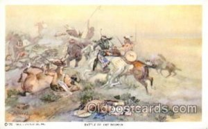 Artist Charles Russell Reproduction Unused