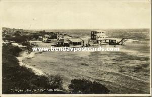 curacao, WILLEMSTAD, Jan Thiel, Bath-Bath-Baño (1920s)