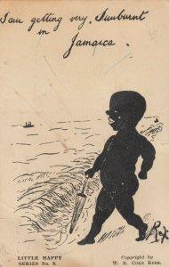 I am getting my sunburnt in Jamaica , 1929