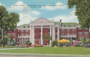 BILOXI, Mississippi, 1944; Biloxi Hotel, Overlooking the Mississippi Gulf Coast