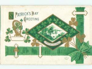 Divided-Back ST. PATRICK'S DAY SCENE Great Postcard W8096
