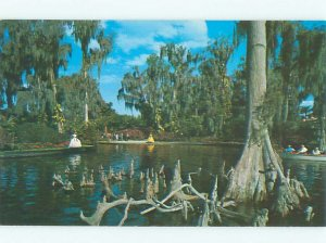 Pre-1980 CYPRESS GARDENS GIRL Winter Haven by Lakeland & Lake Wales FL AF6108-12