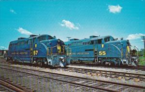 Bangor & Aroostook Railroad Locomotives 55 and 57