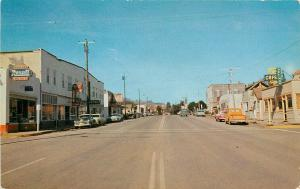 Vintage Postcard; Street Scene Gold Beach OR Curry County Unposted
