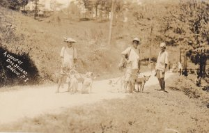 RP: PHILIPPINES , 00-10s ; A Group of Dog Sellers , BAGUIO