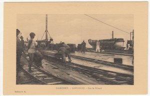 Benin; Dahomey, Cotonou On The Wharves PPC, By ER, Unused, c 1920's