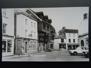 Somerset WIVELISCOMBE The Square c1960's RP Postcard