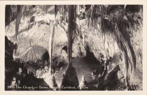 RP; The Chapel of Dome Room, CARLSBAD Cavern, New Mexico , 30-40s