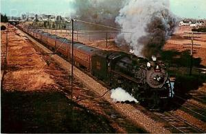 Railroad, NH, Dover, New Hampshire, Boston & Maine , Steam Powered Express Train