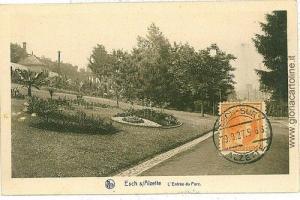 VINTAGE POSTCARD: LUXEMBOURG - ESCH S \ ALZETTE 1927