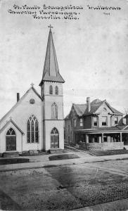 Roseville Ohio~St Paul's Evangelical Lutheran Church~Parsonage~CU Williams~1910