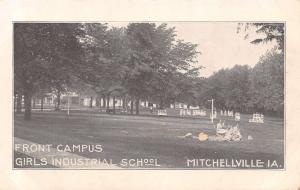 Mitchellville Iowa~Girls Industrial School~Reformatory Front Campus~Inmates~1908