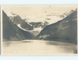 1924 rppc LAKE LOUISE Banff Alberta AB HM2361