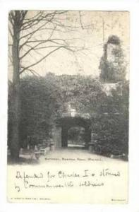 Walsall , UK, PU-1903 : Gateway, Rushall Hall