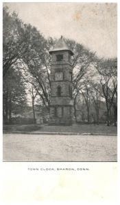 Connecticut  Sharon ,  Tower Clock