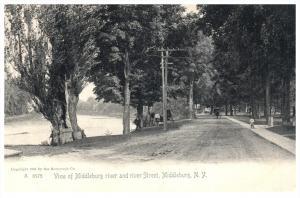 1766  NY  Middleburg  River Street
