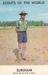 Surinam Boy Scout Jubilee 1968 Boy Scout Uniform