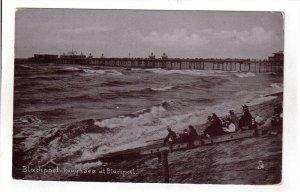 BLACKPOOL, Lancashire, England, PU-1905; Rough Sea At Blackpool