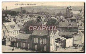 Old Postcard Louviers Vue Generale