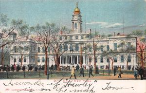 City Hall, New York, N.Y., Early Postcard, Used in 1906