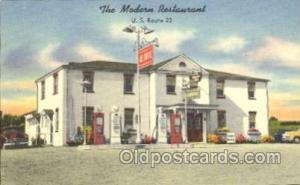 The Modern Restaurant, Lancaster PA, USA? Gas Station Stations Postcard Post ...
