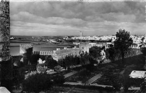 Morocco Rabat Vue des Jardins Garden General view