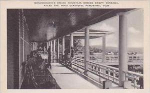 Pennsylvania Pocono Mountain Monomonock Inn Artvue