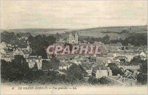 Postcard Old Grand Vue Generale Andely