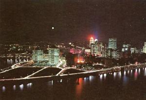 PA - Pittsburgh, Night Scene