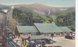 New Hampshire White Mountains New Marshfield House & Mt Washington Cog Railwa...