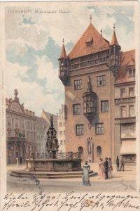 NURNBERG, Bavaria, Germany, PU-1904; Nassauer Haus