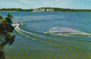 Water Skiing Gaylord Michigan