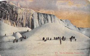 The Ice Mountain Niagara Falls Canada, U.S. 1925